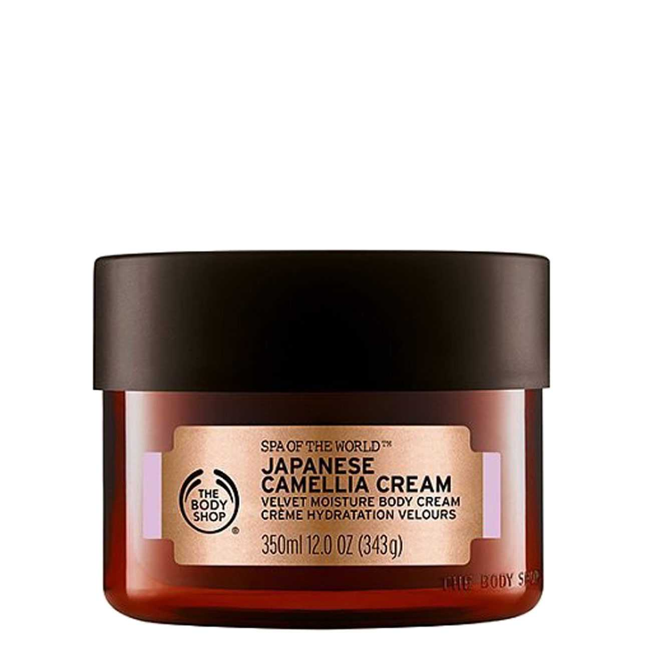 Japanese Camellia Cream 350 Ml The Body Shop imagine 2021 bestvalue.eu