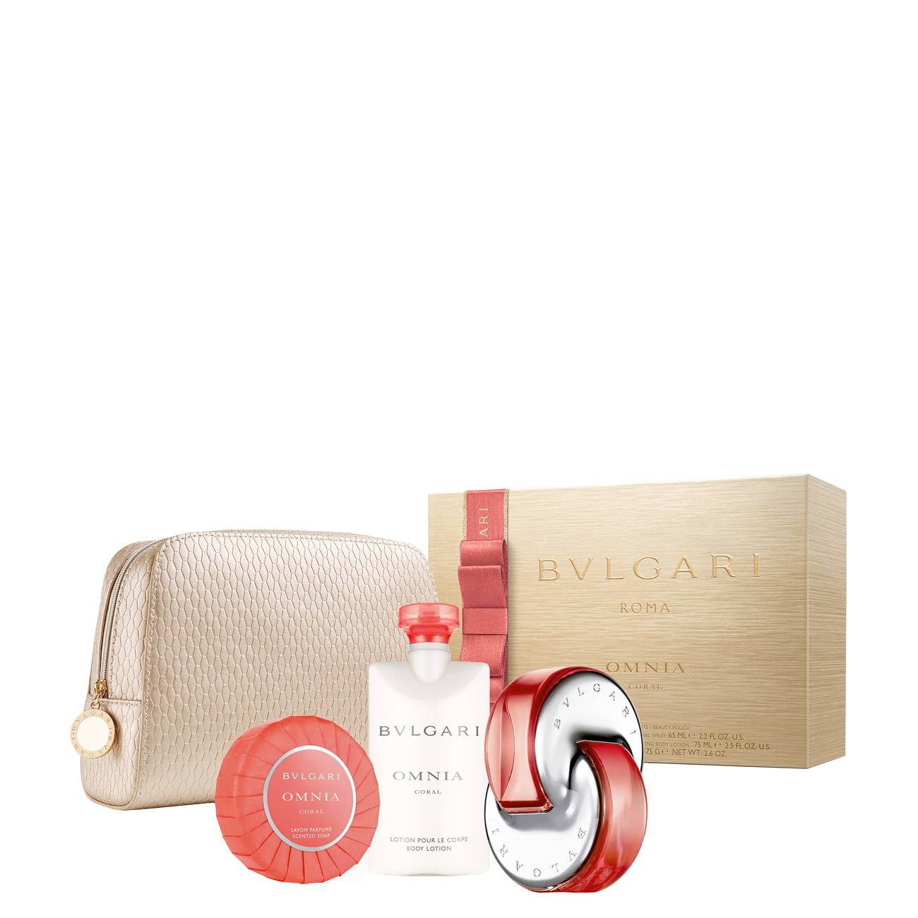 OMNIA CORAL XMAS SET 215 ML 215ml imagine produs