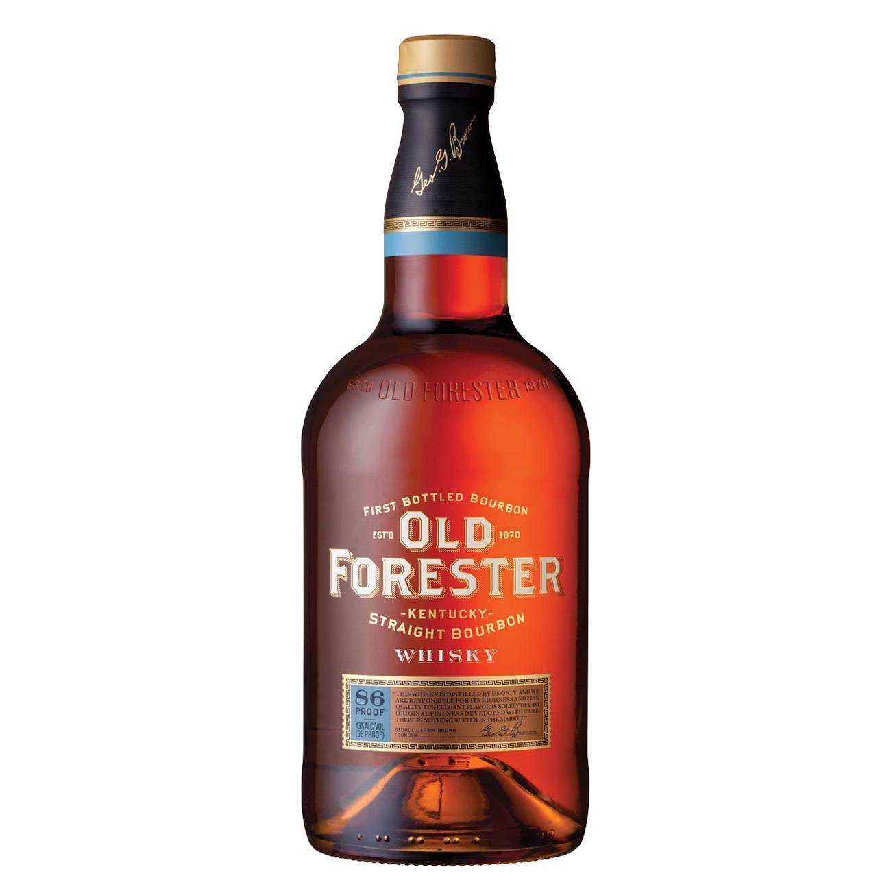 Whiskey american, BOURBON 1000 ML, Old Forester