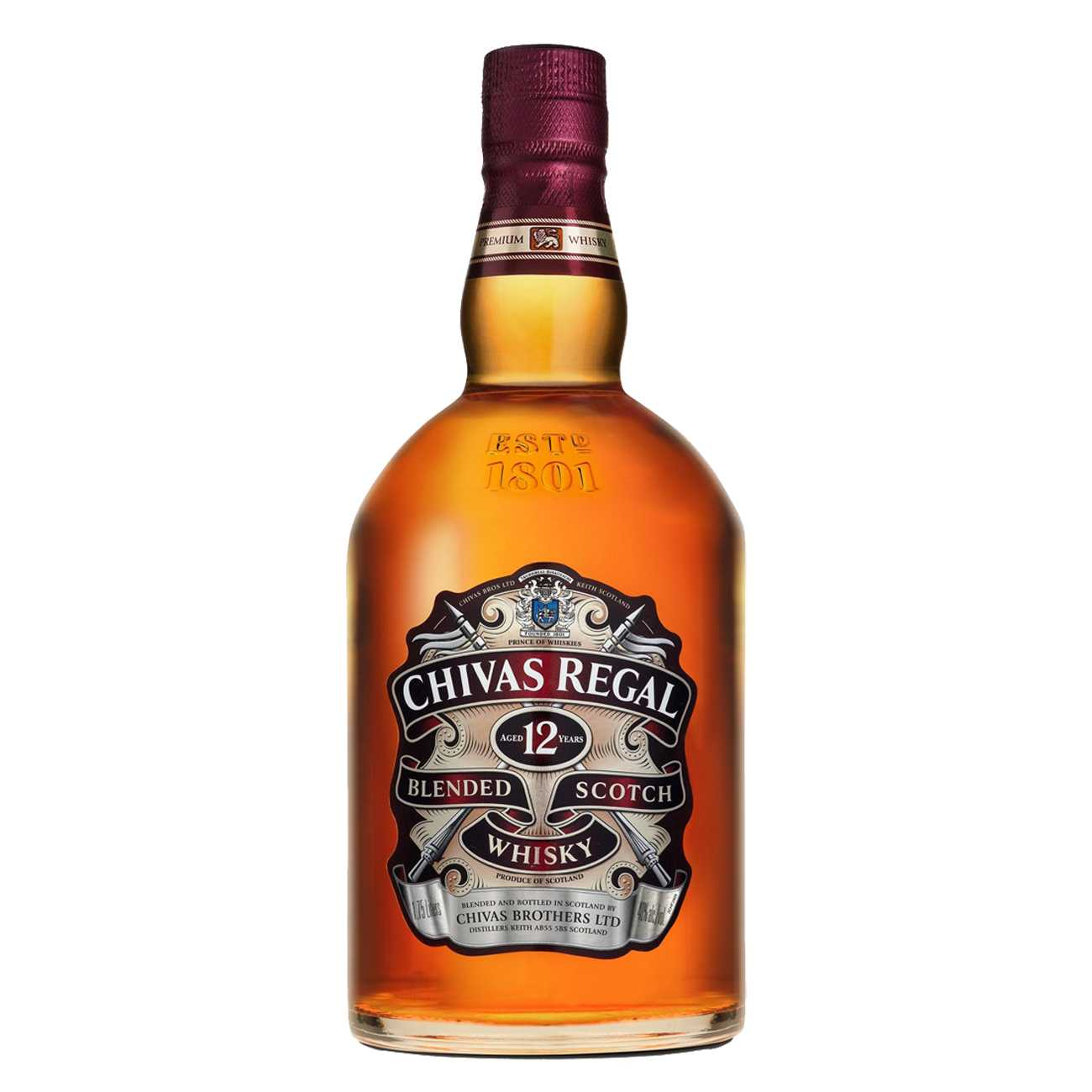 Whisky scotian, 12 YEAR OLD 1750 ML, Chivas Regal