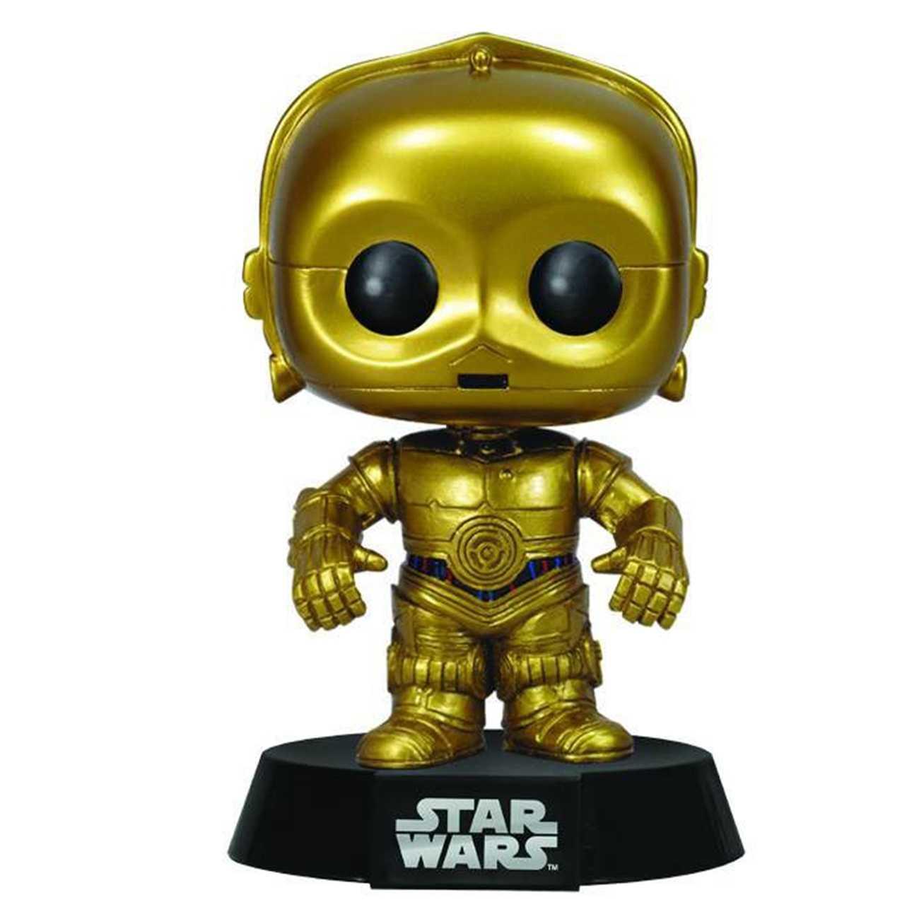 FUN POP BOBBLE-HEAD C-3PO
