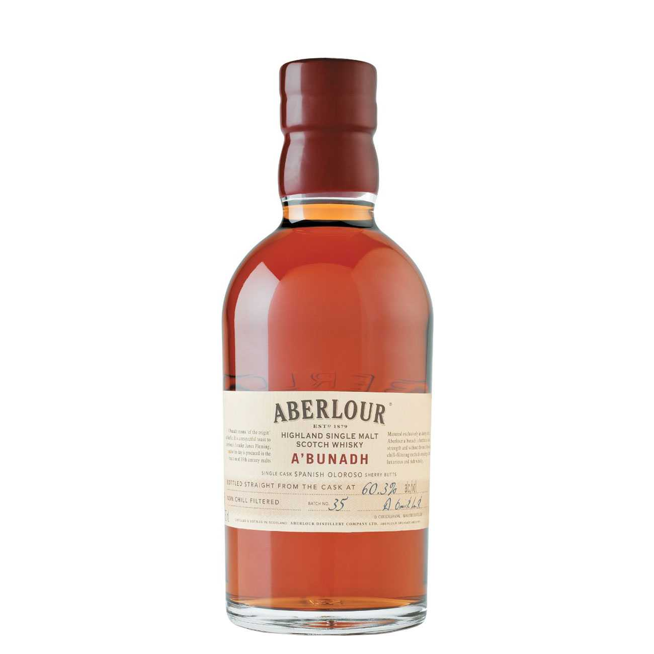 Whisky scotian, A'BUNADH SINGLE SPEYSIDE MALT 700 ML, Aberlour