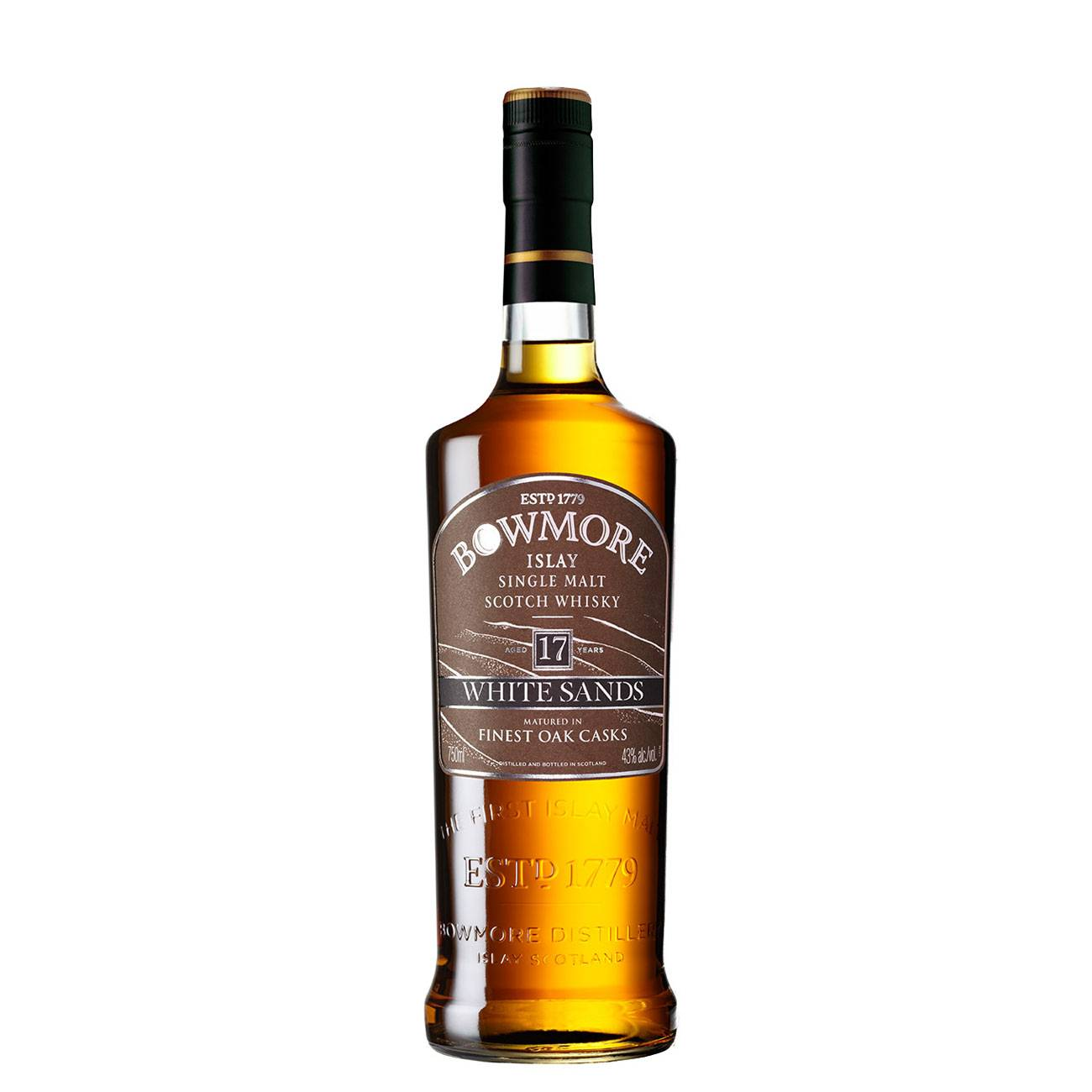 Whisky scotian, WHITE SANDS 17 YEAR OLD 700 ML, Bowmore