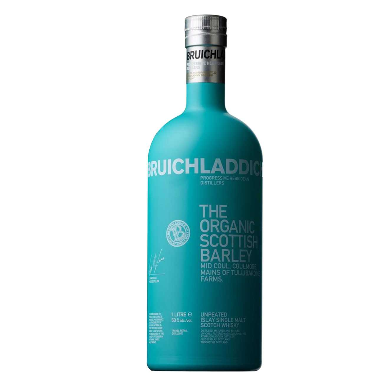 Whisky scotian, ORGANIC 1000 ML, Bruichladdich