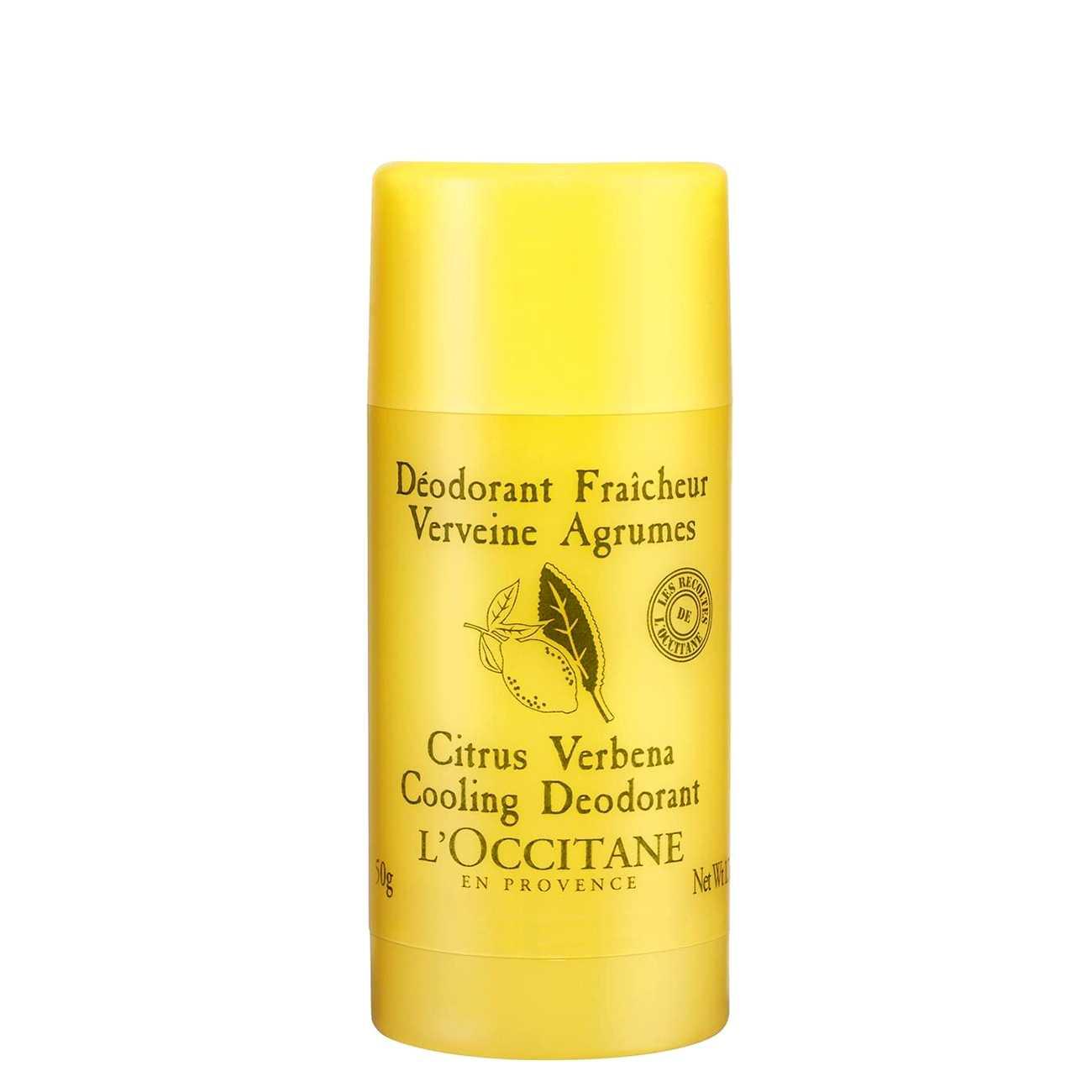 Citrus Verbena Cooling Deodorant 50 G L'occitane imagine 2021 bestvalue.eu