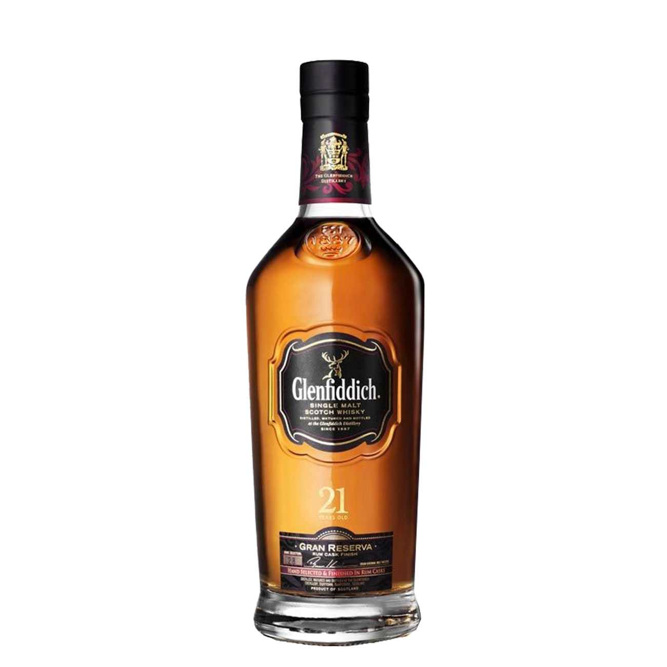 Whisky scotian, GRAND RESERVE 21 YEAR OLD 700 ML, Glenfiddich