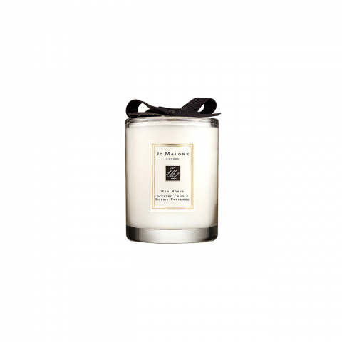 RED ROSES TRAVEL CANDLE INDIVIDUAL 60 GR