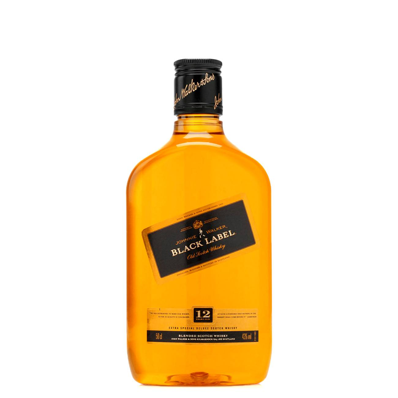 Whisky scotian, BLACK LABEL 12 YEARS OLD 500 ML, Johnnie Walker