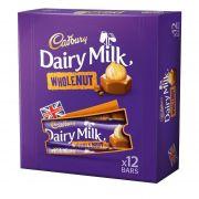 Cadbury DAIRY WHOLENUT BAR BOX Batoane 540gr