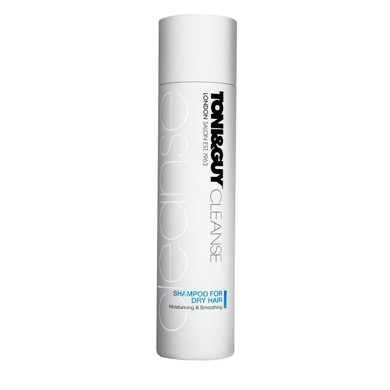 Cleanse Shampoo For Dry Hair 250ml Toni & Guy imagine 2021 bestvalue.eu