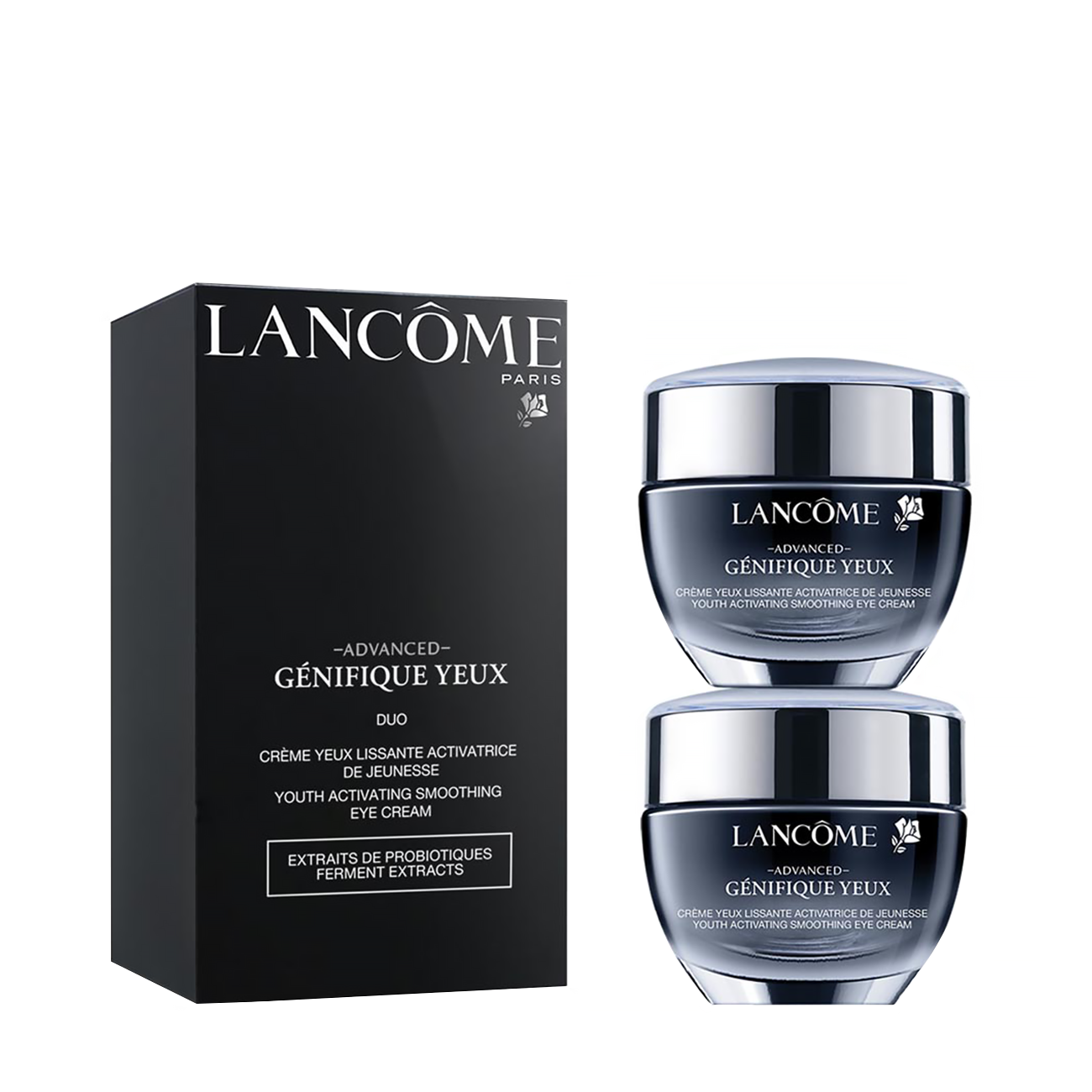 Genifique Eye Duo Cream Set 30ml Lancôme imagine 2021 bestvalue.eu