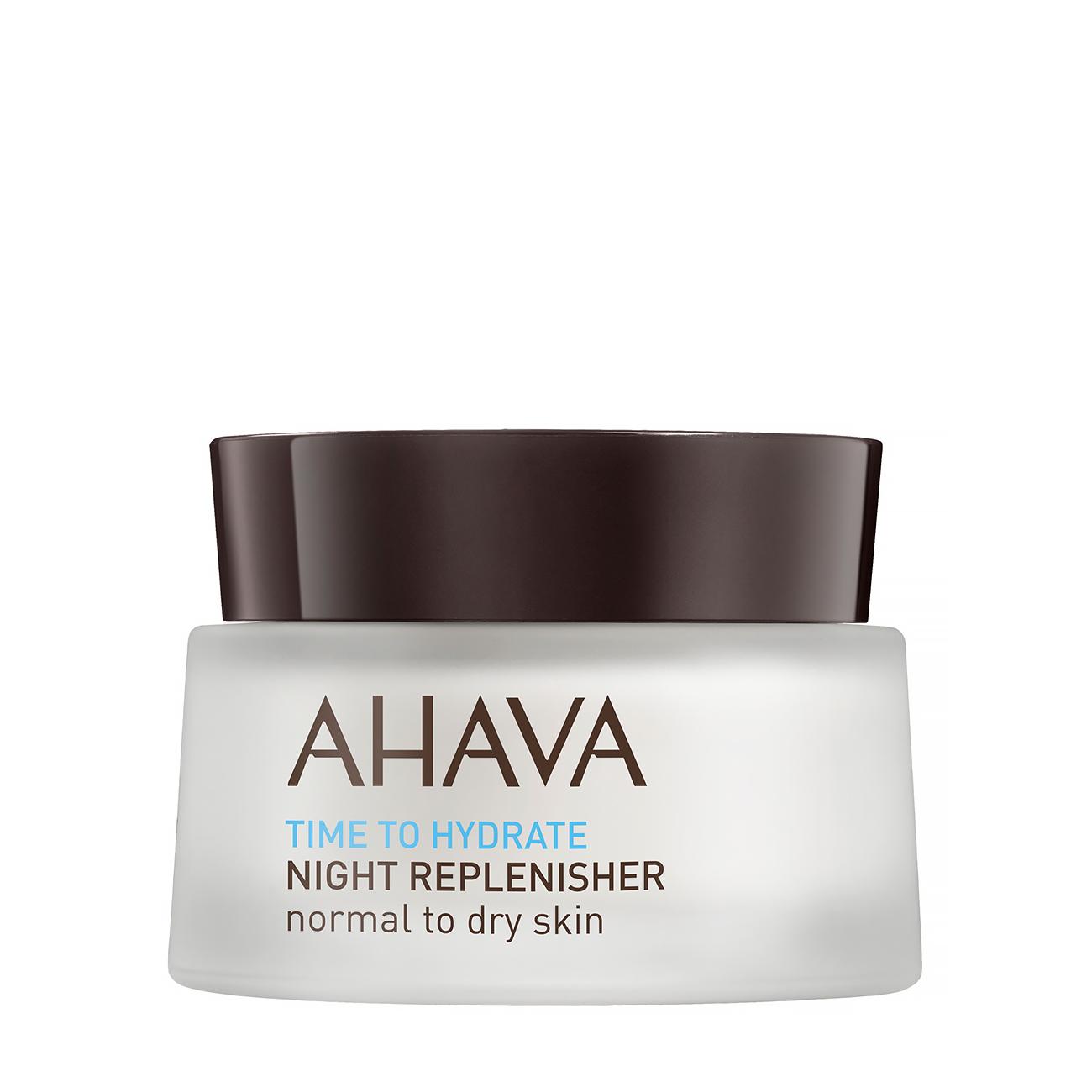 Time To Hydrate Night Replenisher Normal Dry 50ml Ahava imagine 2021 bestvalue.eu