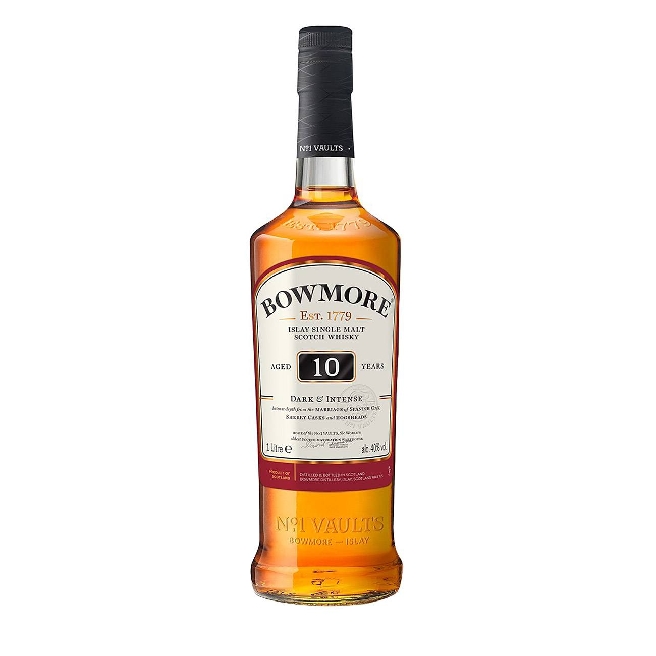 Whisky scotian, DARK & INTENSE 10Y 1000 Ml, Bowmore