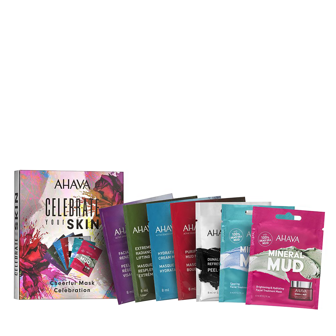Celebrate Your Skin - Cheerful Mask Celebration Kit 52ml Ahava imagine 2021 bestvalue.eu