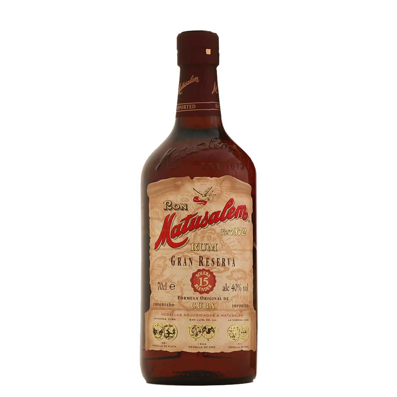 Rom, GRAN RESERVA 15Y 750 ML, Matusalem Rum