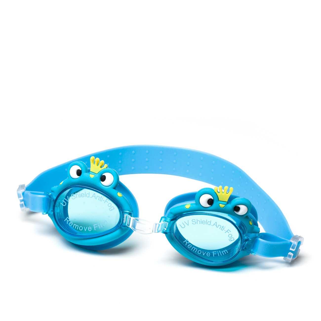 Swimming Goggles Blue imagine