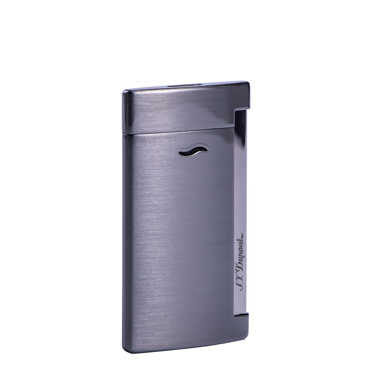 027712 FULL BRUSHED GUN METAL LIGHTER imagine produs