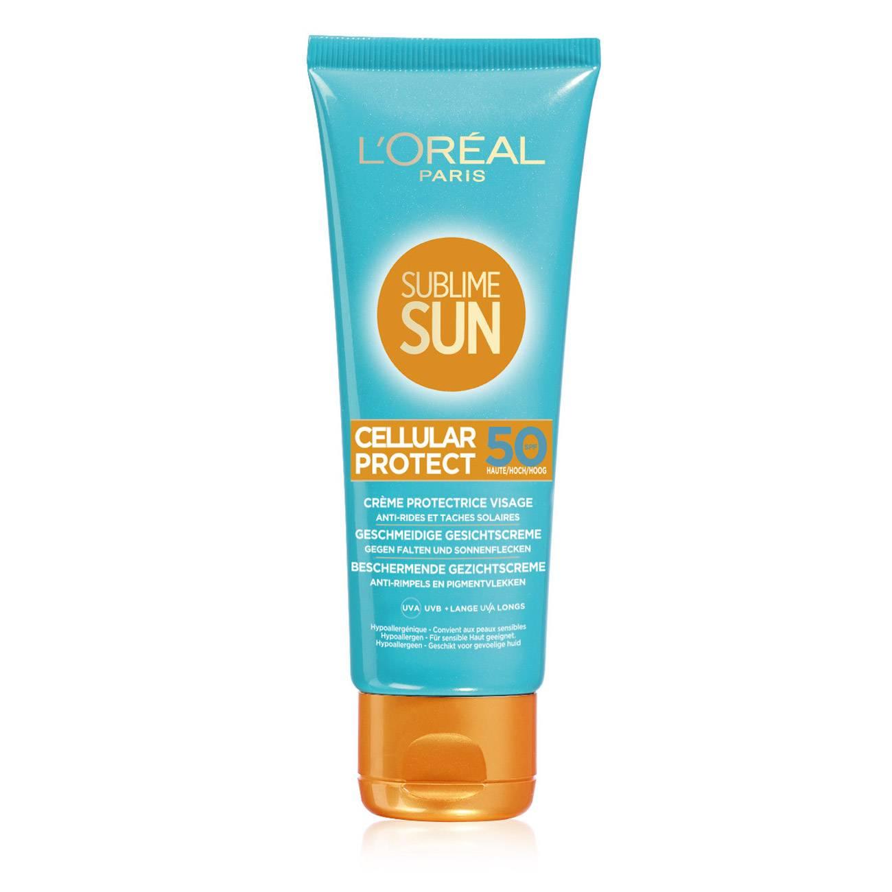 SUBLIME SUN CREME CELLULAR PROTECT SPF 50 75ml poza