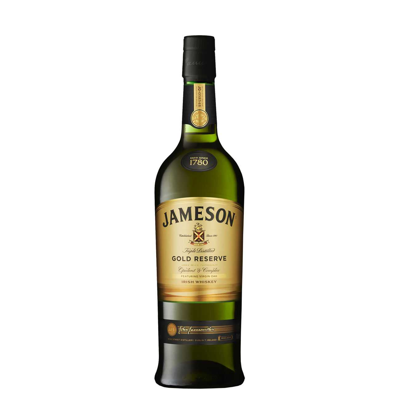Whisky irlandez, GOLD RESERVE 700 ML, Jameson