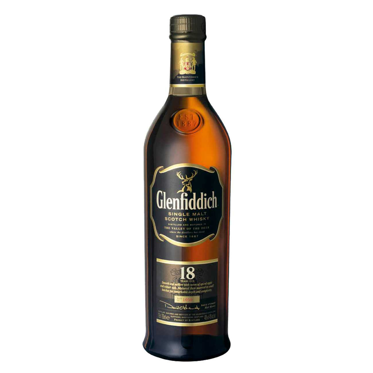 Whisky scotian, 18 YEAR OLD 1000 ML, Glenfiddich