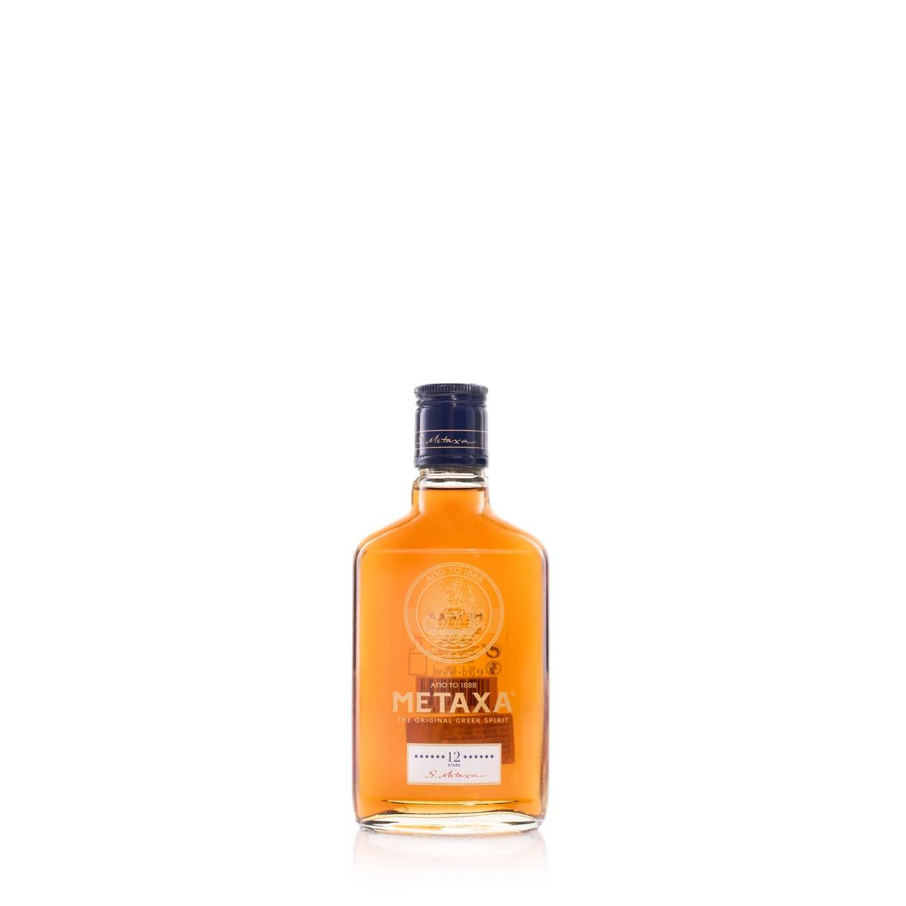 12* 200 Ml de la Metaxa