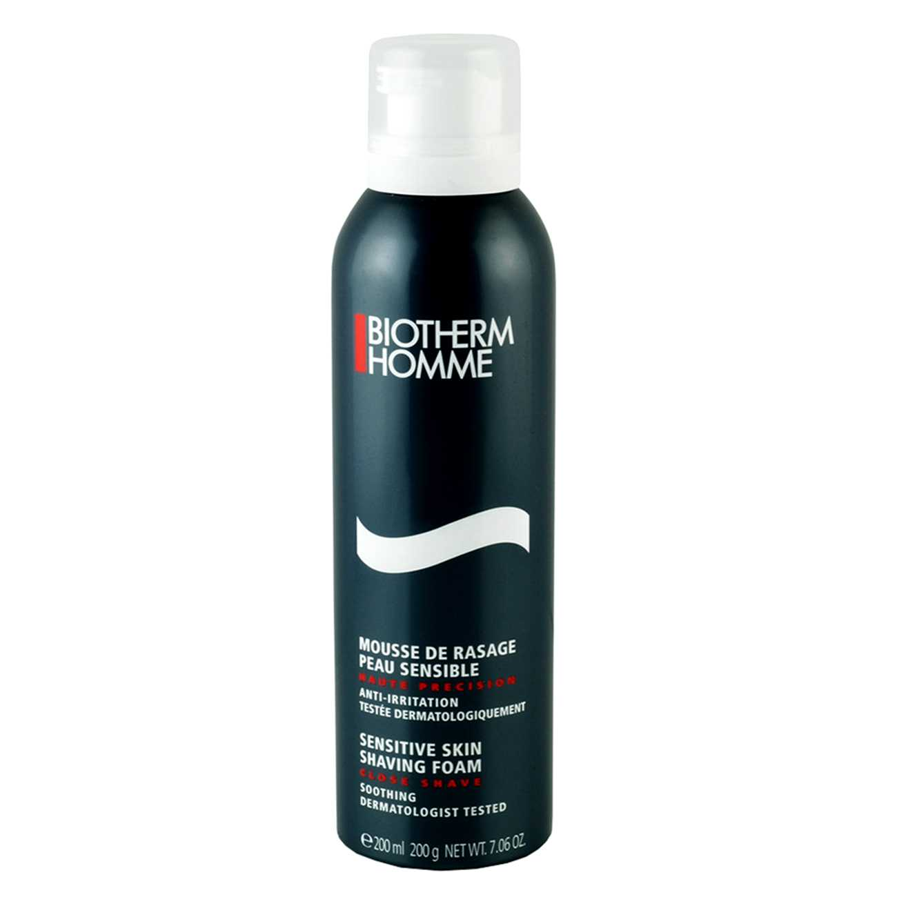 HOMME SENSITIVE SKIN SHAVING FOAM 200 ML