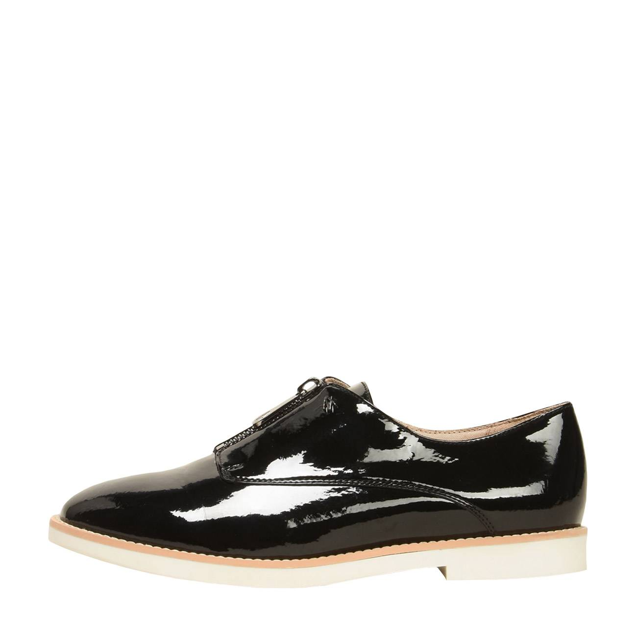 ZIP-FRONT OXFORDS 36