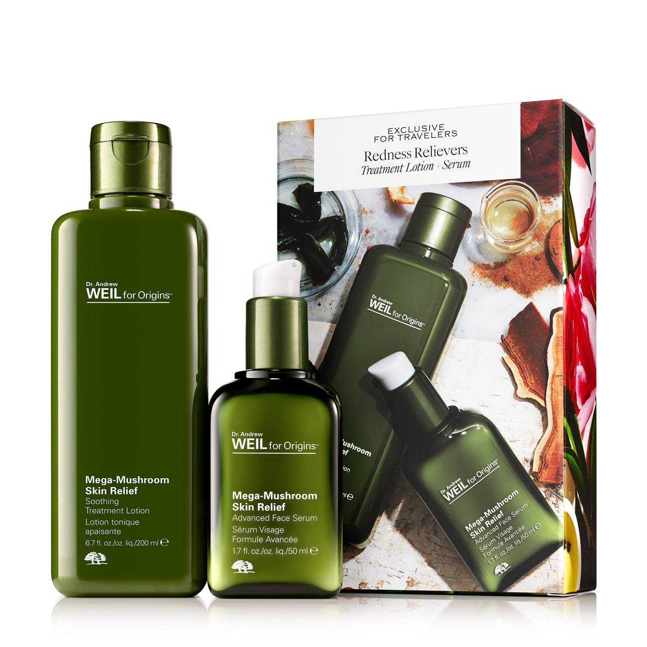 Dr. Andrew Weil Redness Relievers Set 250 Ml