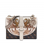 Genti crossover Guess EILEEN EMBOIDERED FLAP CROSSBODY
