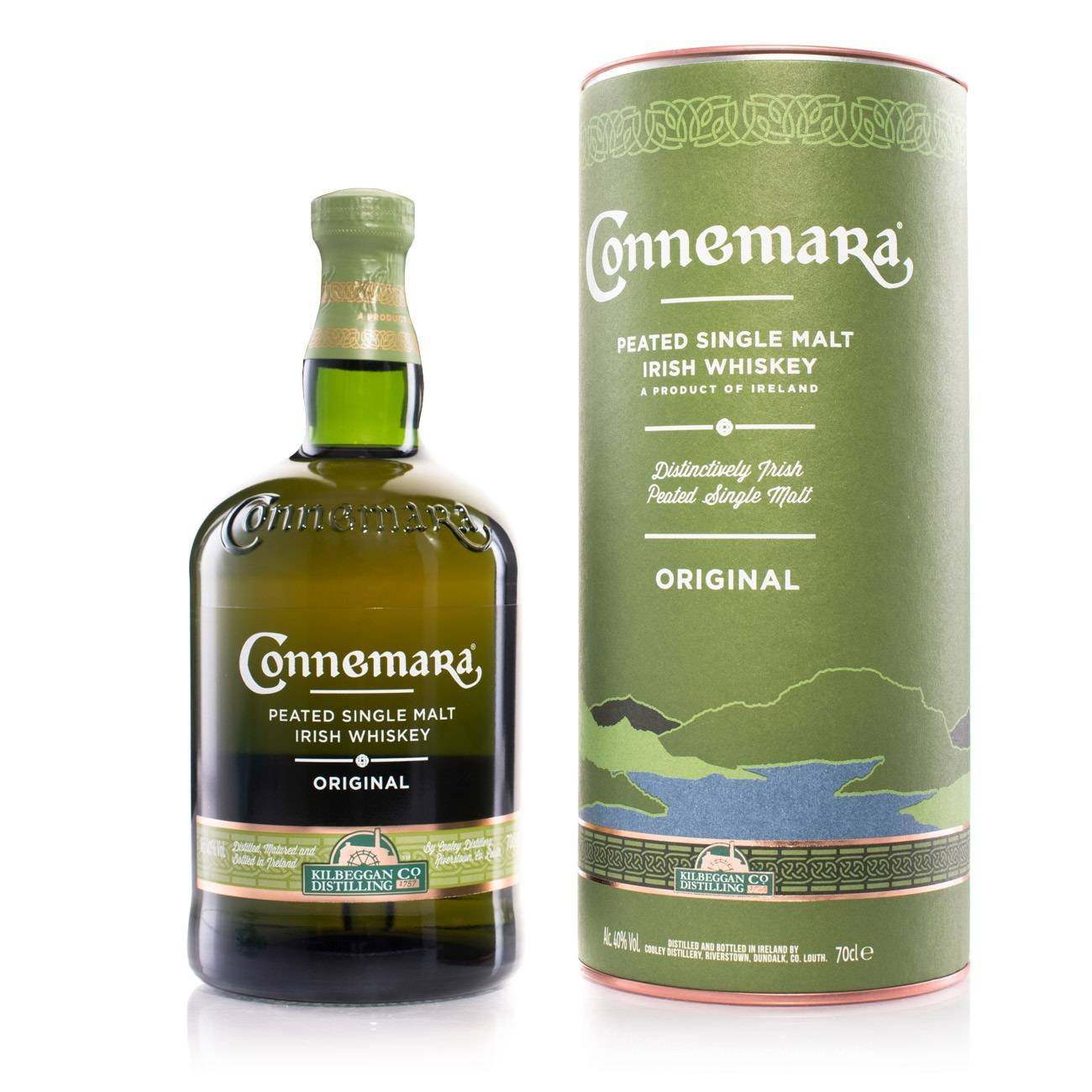 Whisky irlandez, ORIGINAL PEATED 700 Ml, Connemara