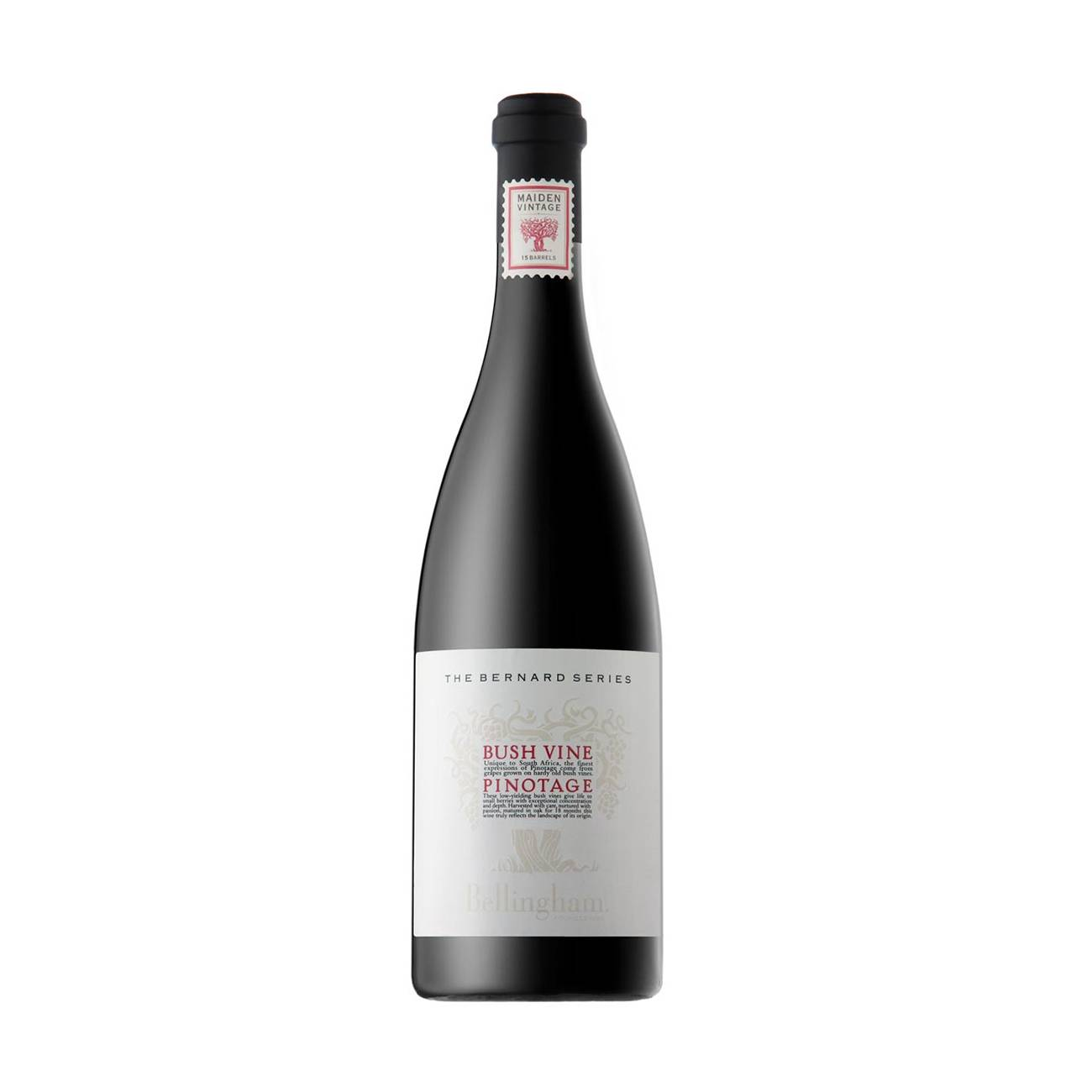 The Bernard Series Bush Vine Pinotage 750ml