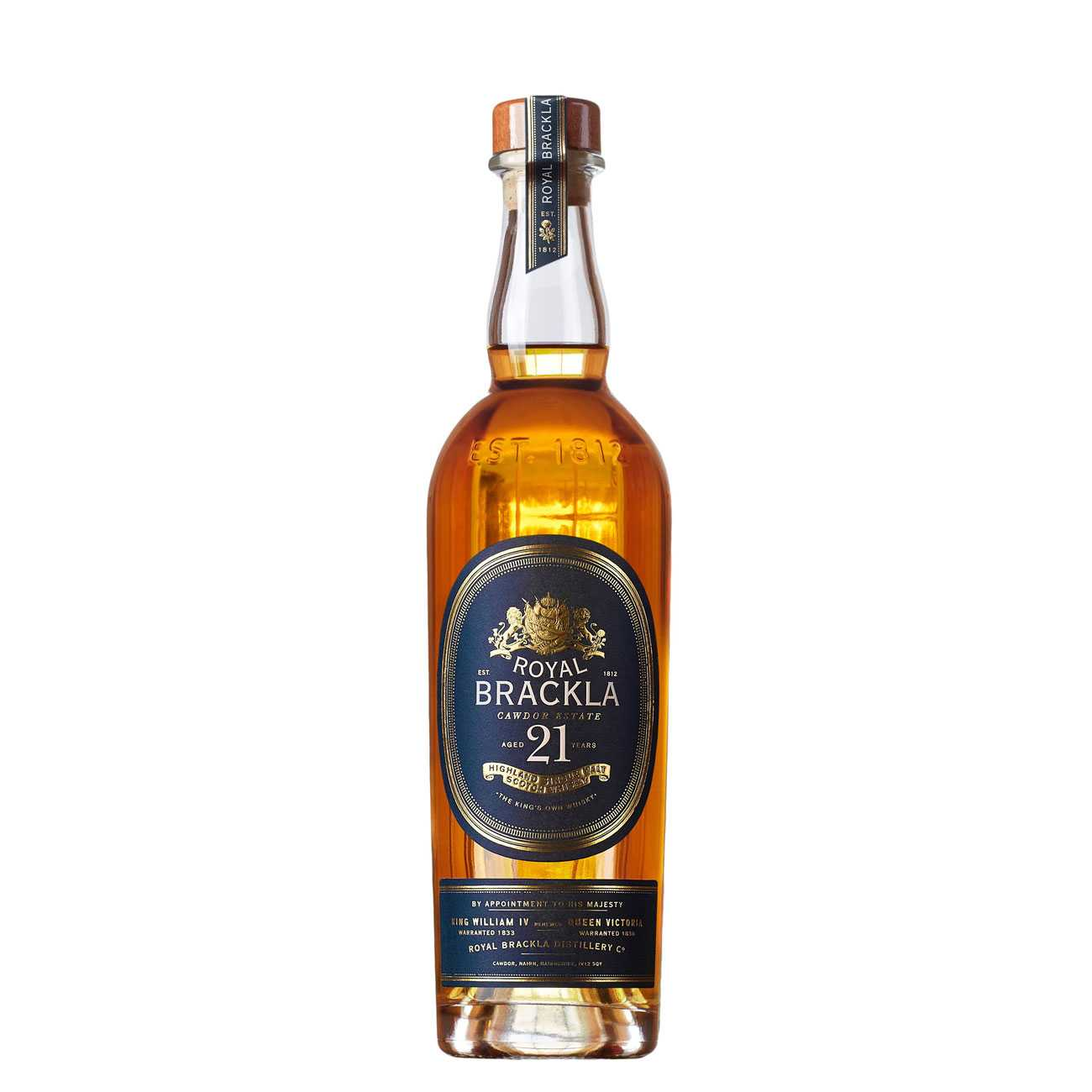 Whisky scotian, 21 YEARS 700 ML, Royal Brackla