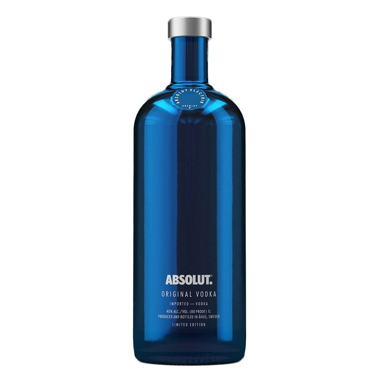 Vodka, BLUE ELECTRIK 1000 ML, Absolut