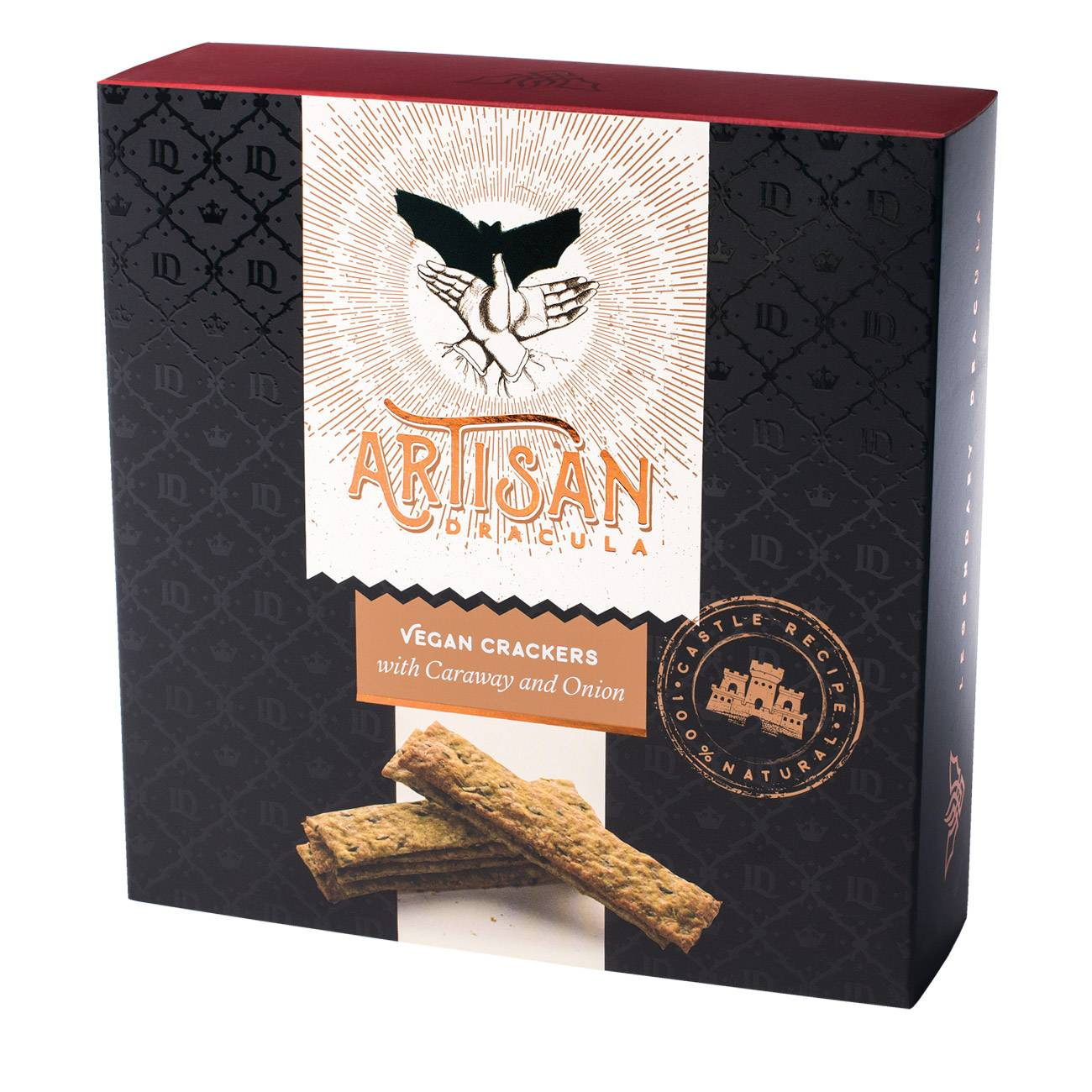 ARTISAN CRACKERS CARAWAY AND ONION 150 Grame