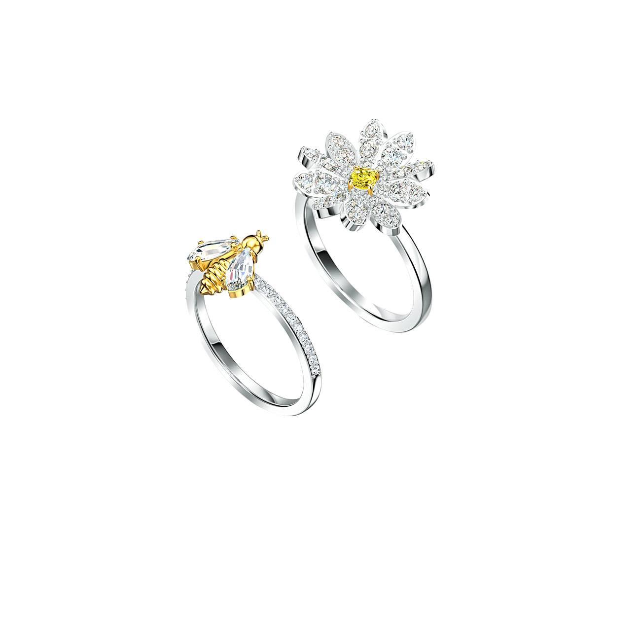 ETERNAL FLOWER RING SET 5512661 55 imagine produs