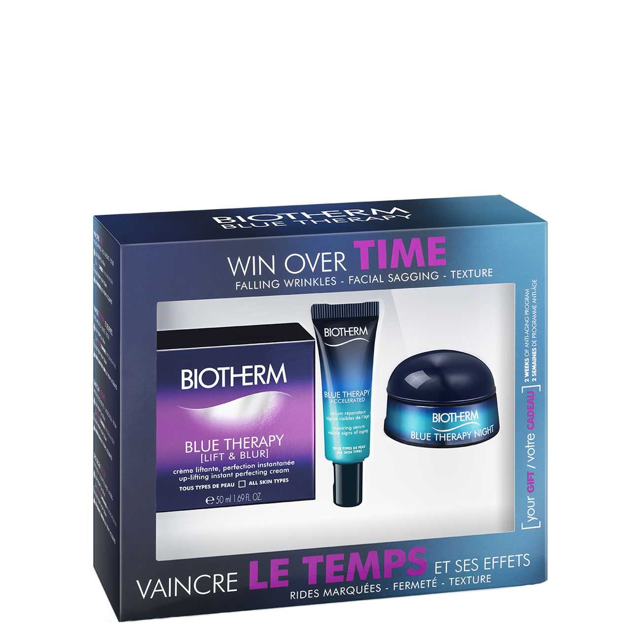 BLUE THERAPY LIFT AND BLUR SET 75 ML