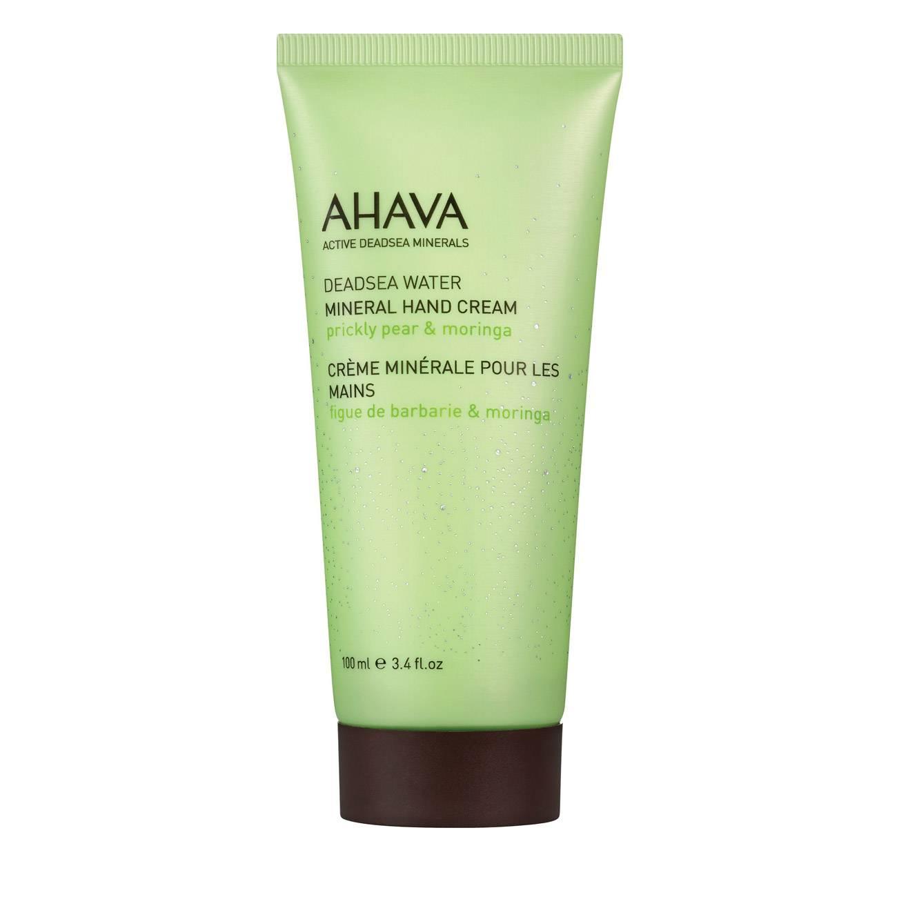 Deadsea Water Mineral Hand Cream Prickly Pear & Moringa 100 Ml Ahava imagine 2021 bestvalue.eu