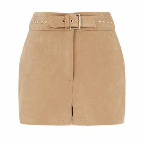 Armani Exchange Faux-suede shorts 40 Pantaloni