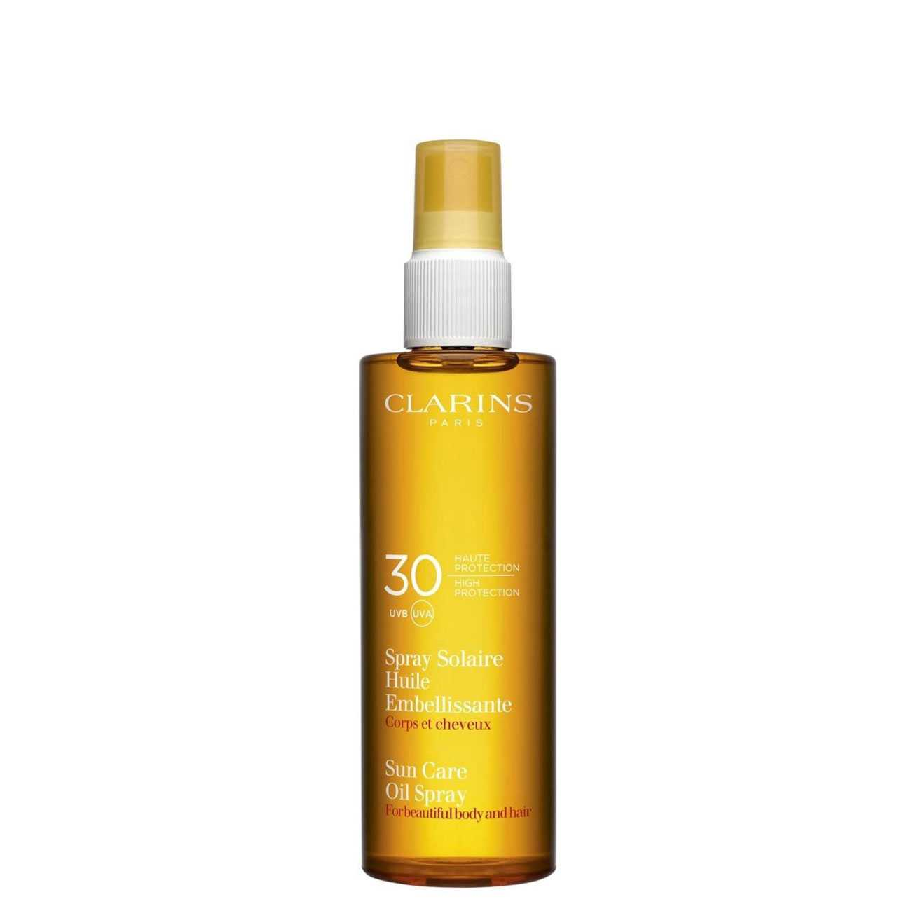 Sun Care Dry Oil For The Body And Hair 150 Ml Clarins imagine 2021 bestvalue.eu