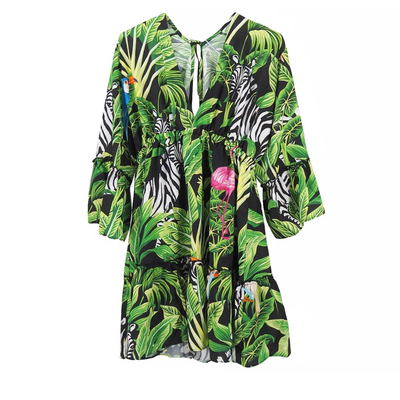 Mini Dress Neiva Tropical Birds M imagine