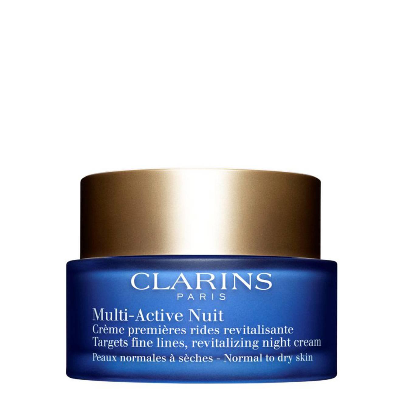 Multi Active Night Cream 50 Ml Clarins imagine 2021 bestvalue.eu