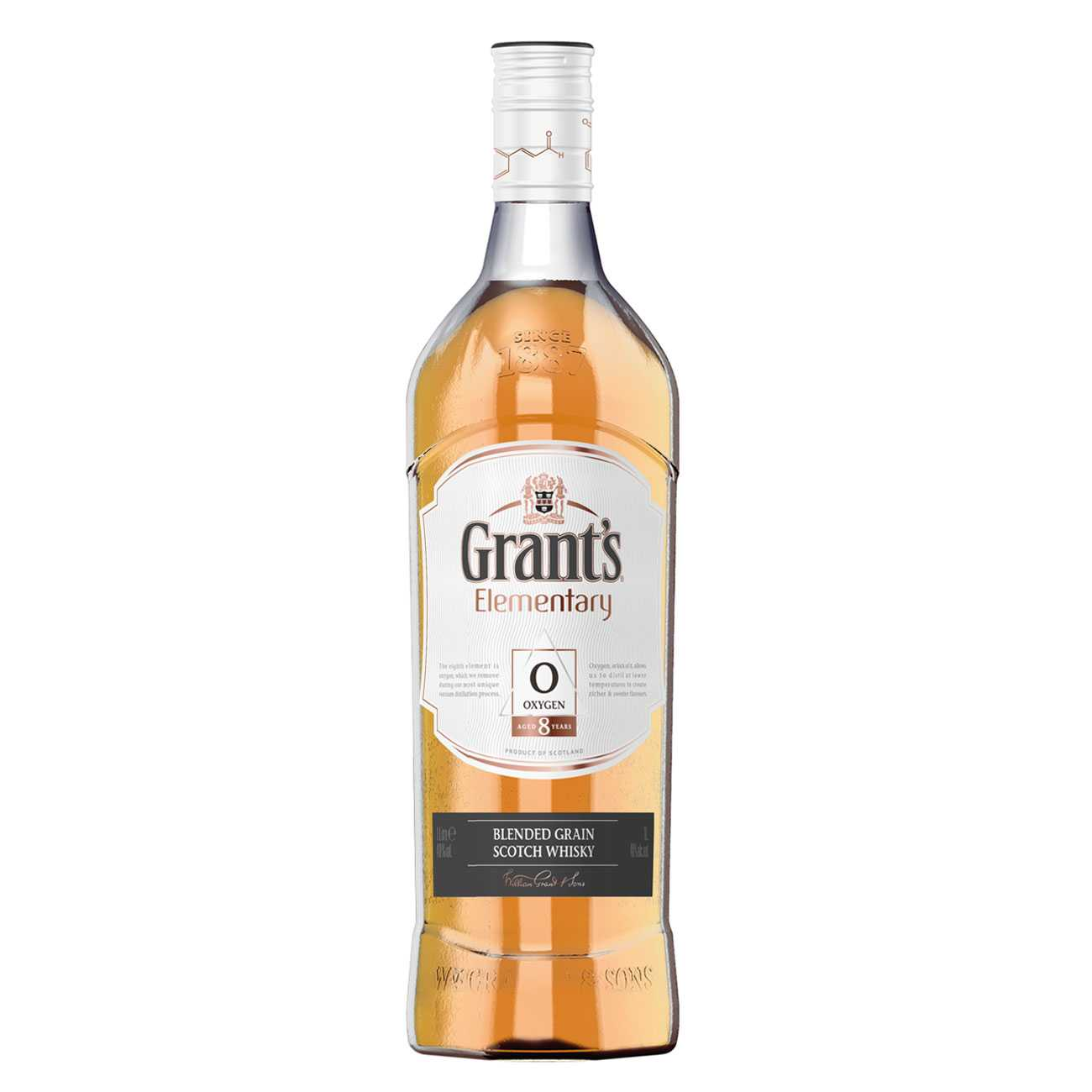 Whisky scotian, OXYGEN 8 YEARS 1000 ML, Grant's