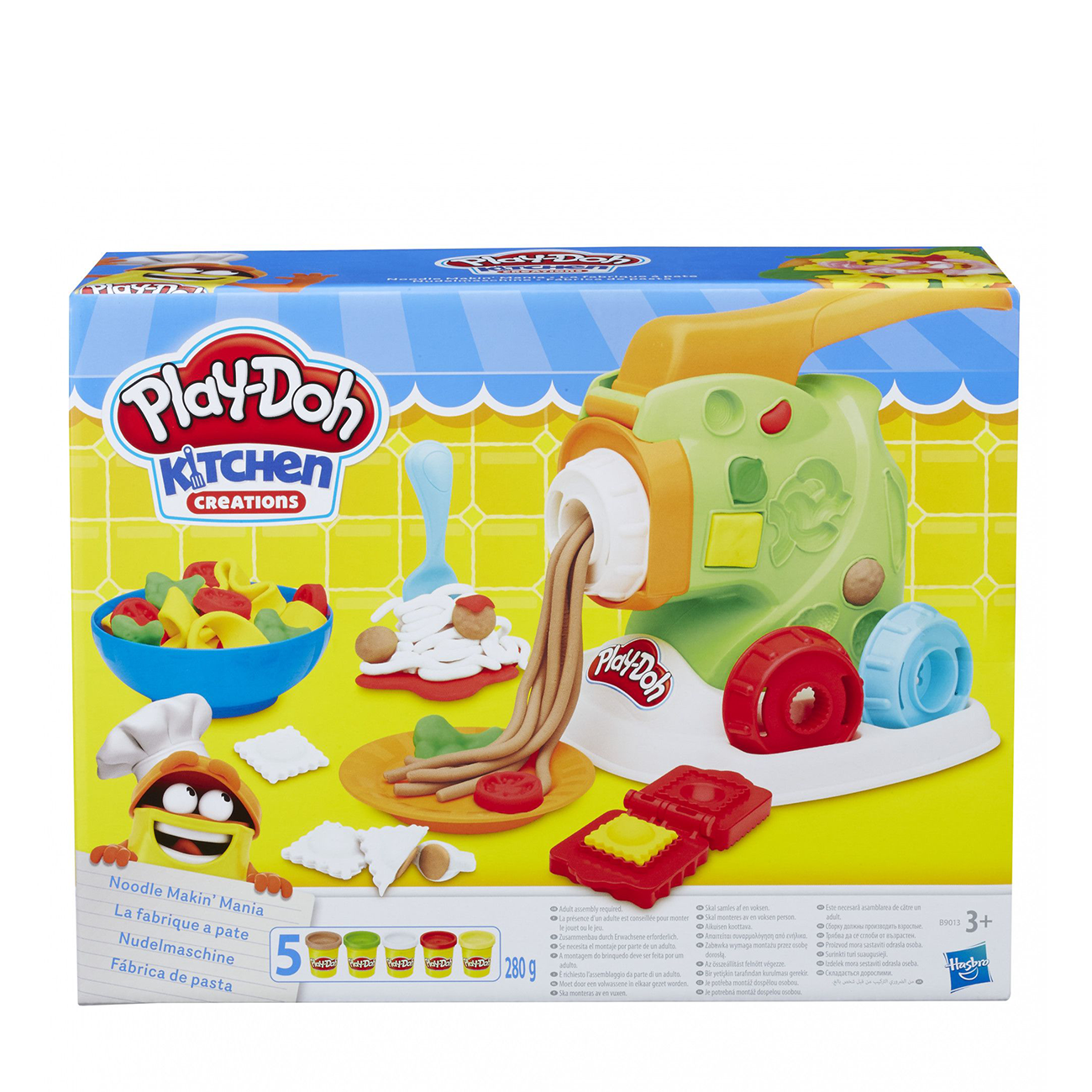 PLAY DOH NOODLE MAKIN' MANIA