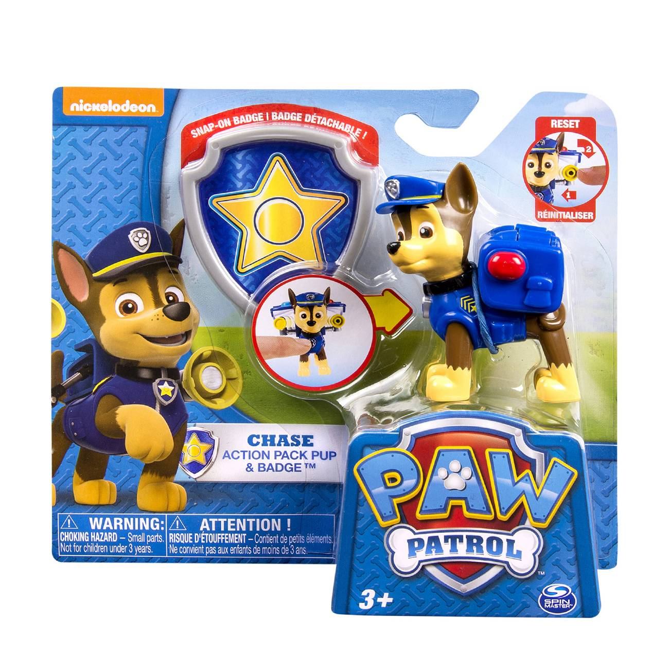ACTION PACK PUP& BADGE