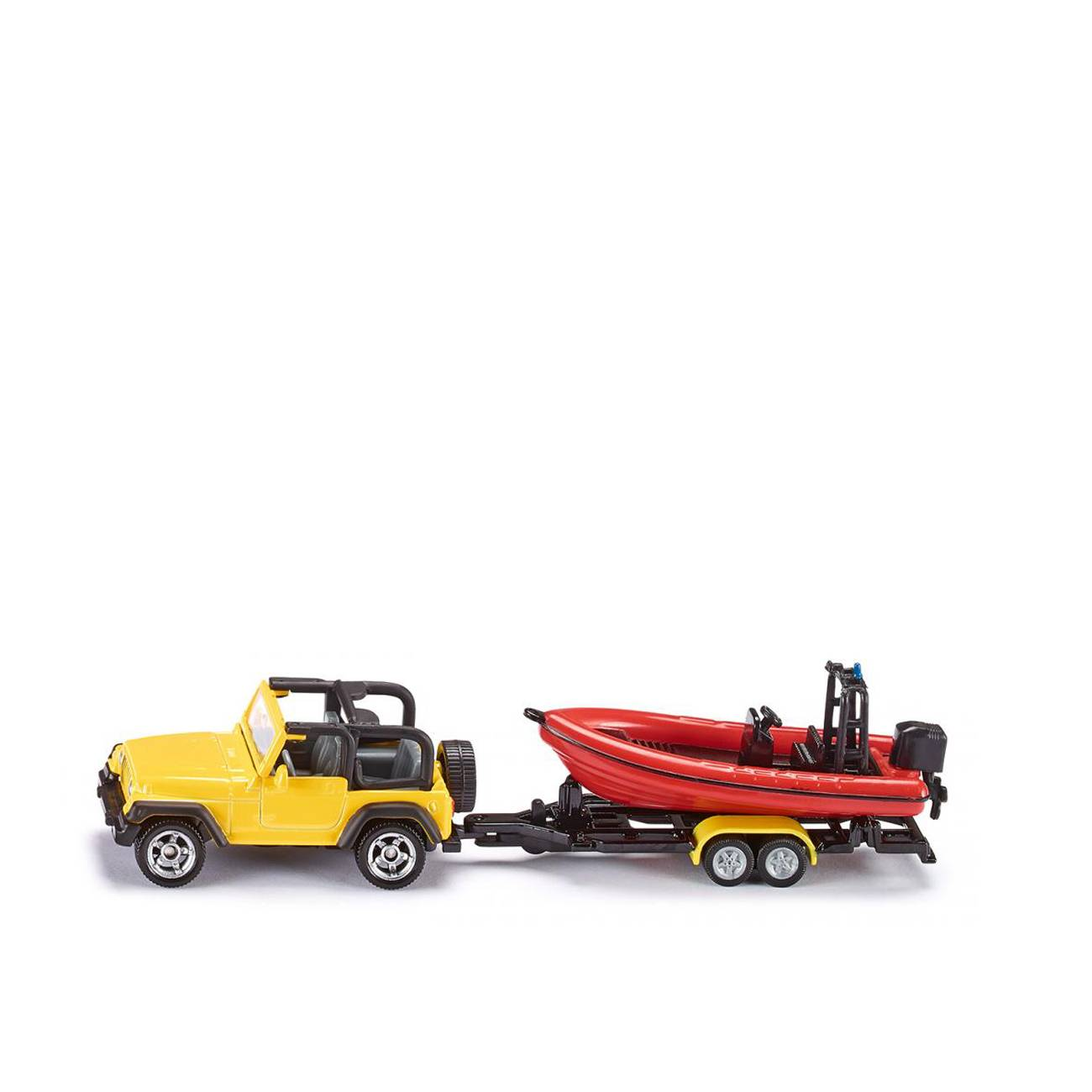JEEP WITH BOAT
