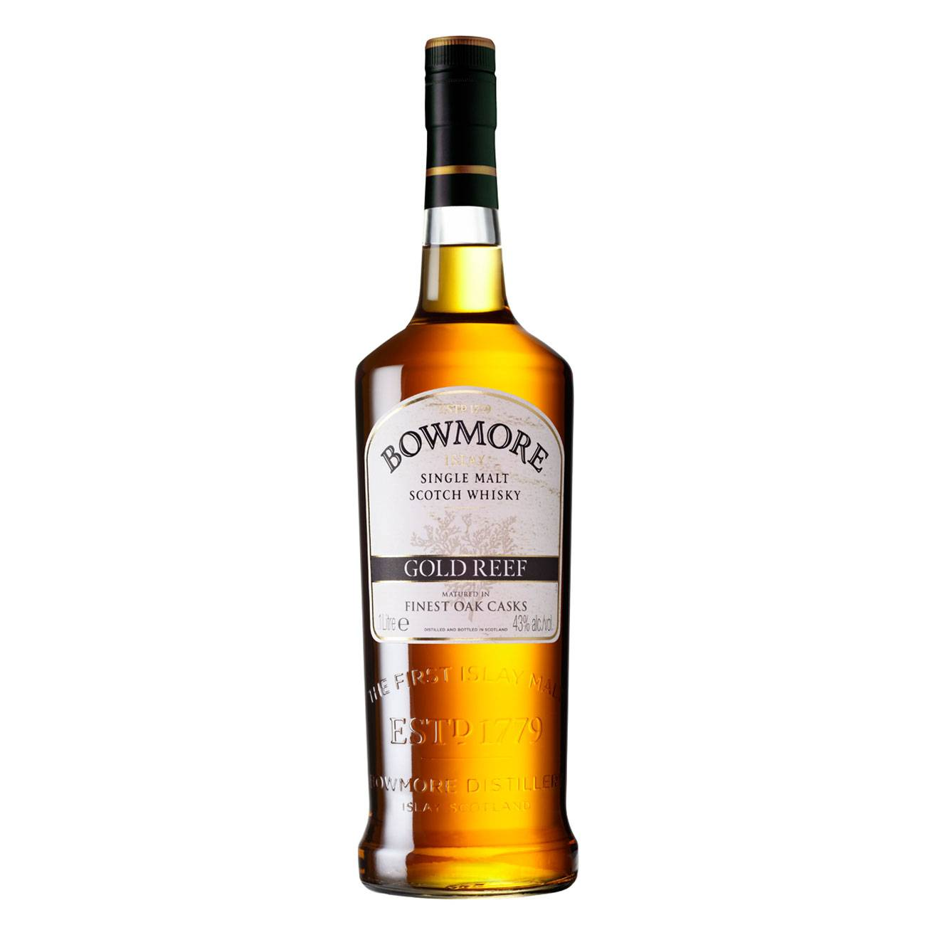 Whisky scotian, GOLD REEF 1000 ML, Bowmore