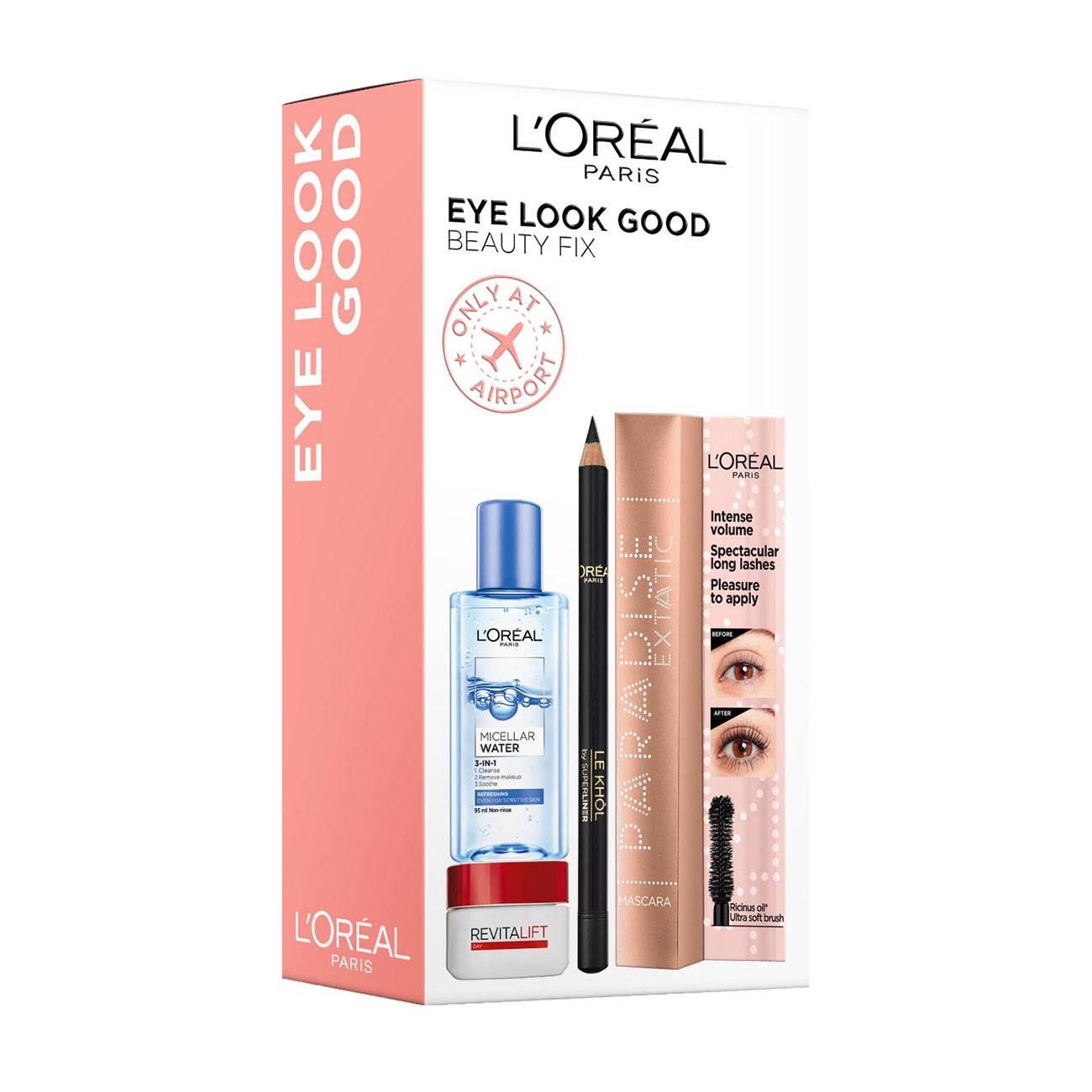 Eye Look Good Beauty Fix Set 117ml L'Oreal imagine 2021 bestvalue.eu