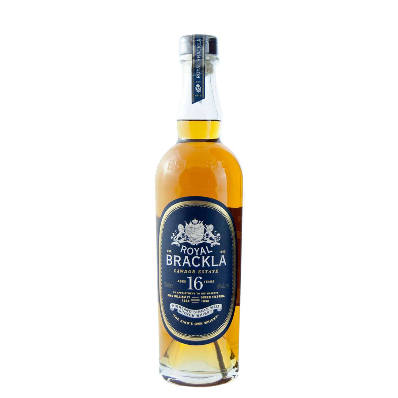 Whisky scotian, 16 YEARS 700 ML, Royal Brackla
