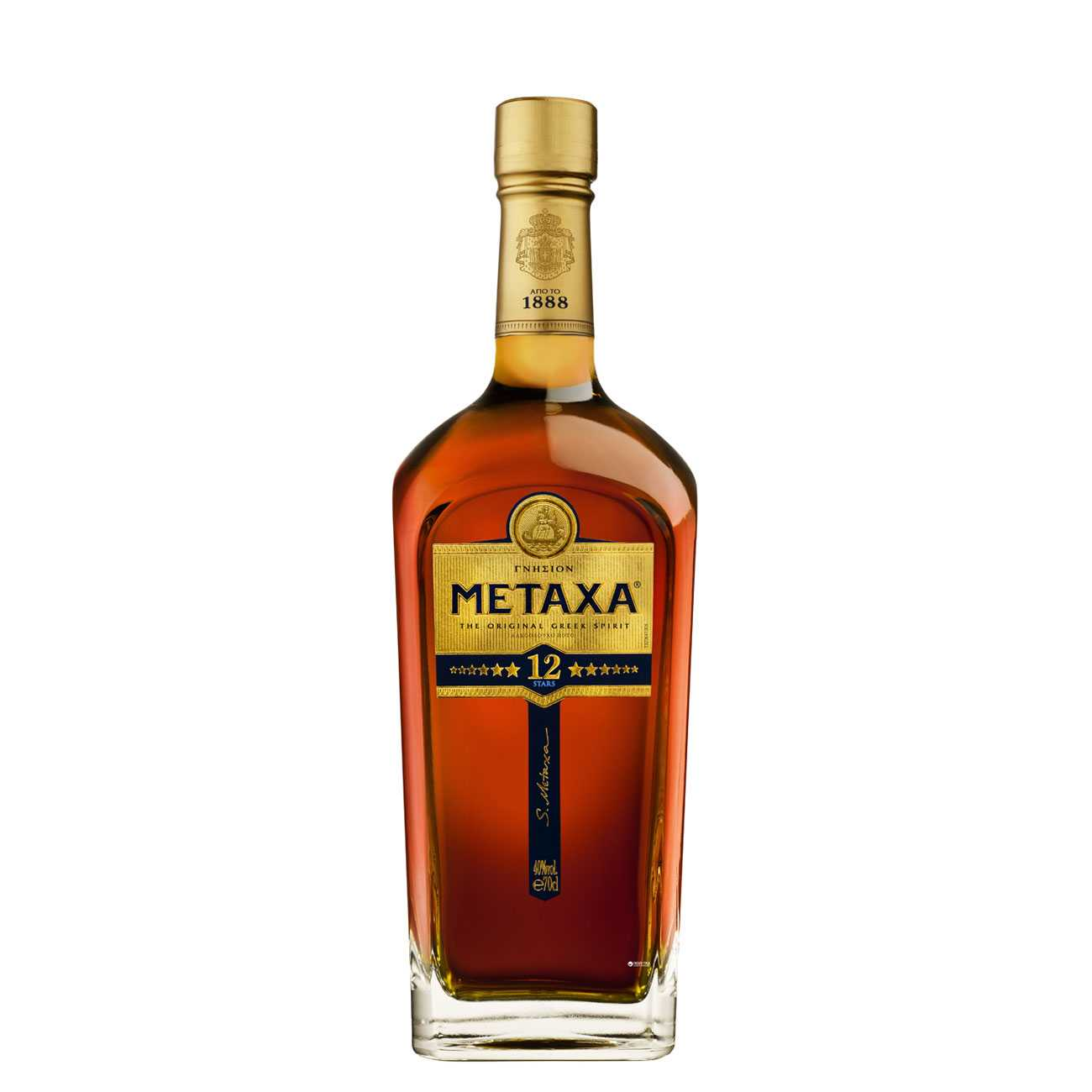 12 Star Grand Oliympian Reserve 700 Ml de la Metaxa