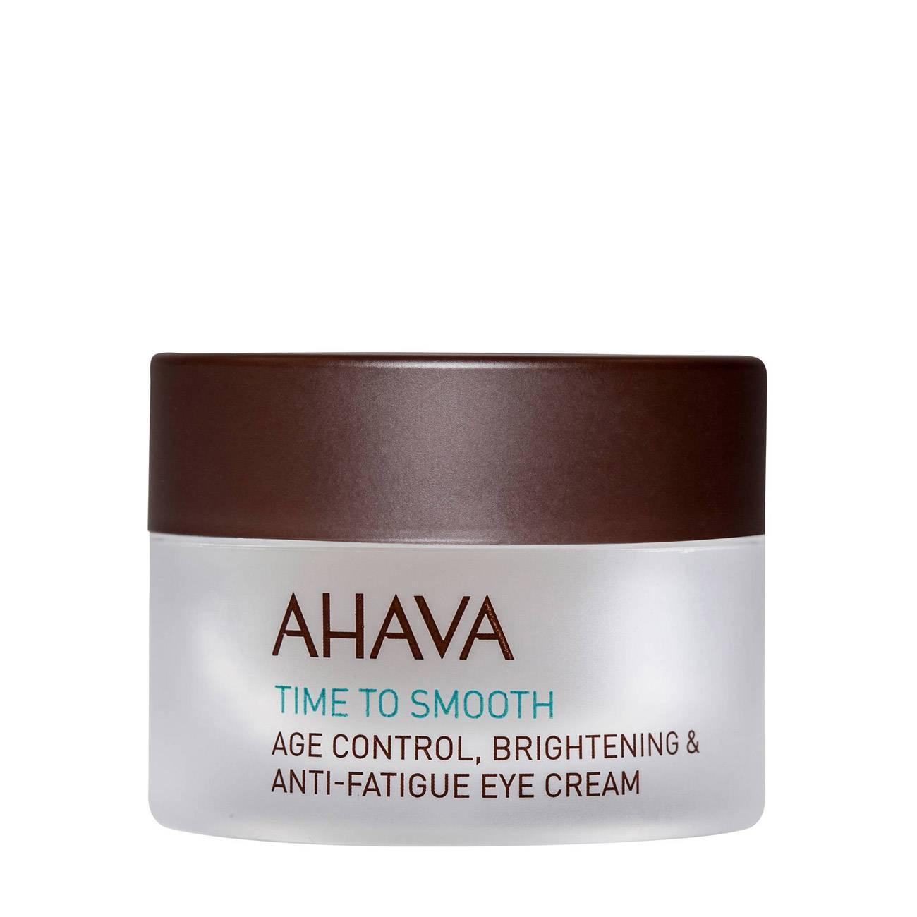 Time To Smooth Age Control Brightening Eye Cream 15ml Ahava imagine 2021 bestvalue.eu